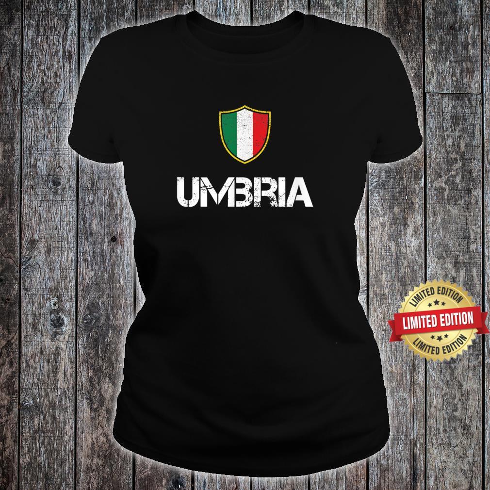 # Umbria Shirt, Italy Umbro Roots Shirt ladies tee