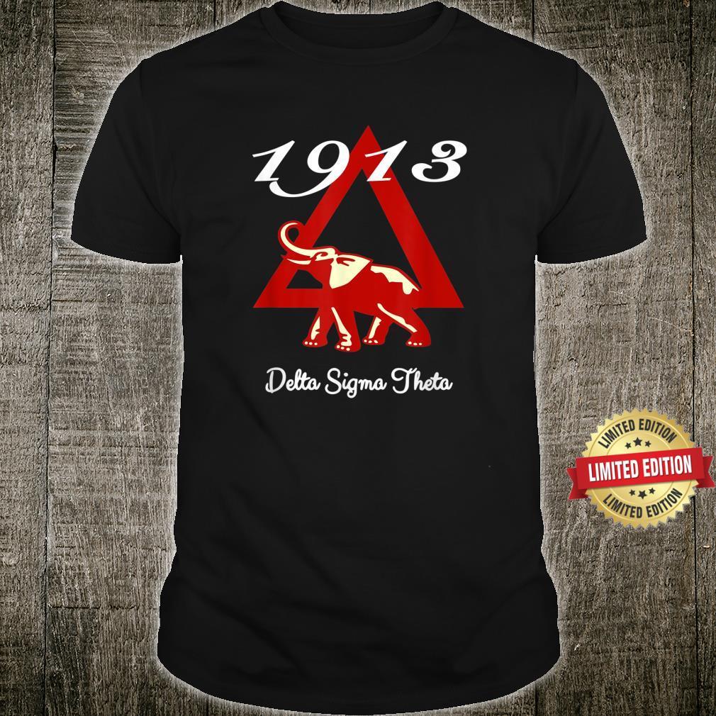 1913 Sorority Sigma Theta Paraphernalia Shirt