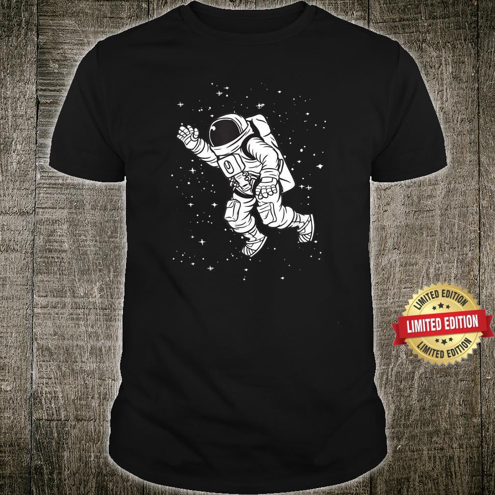 Astronaut Space Travel Galaxy Planet Shirt