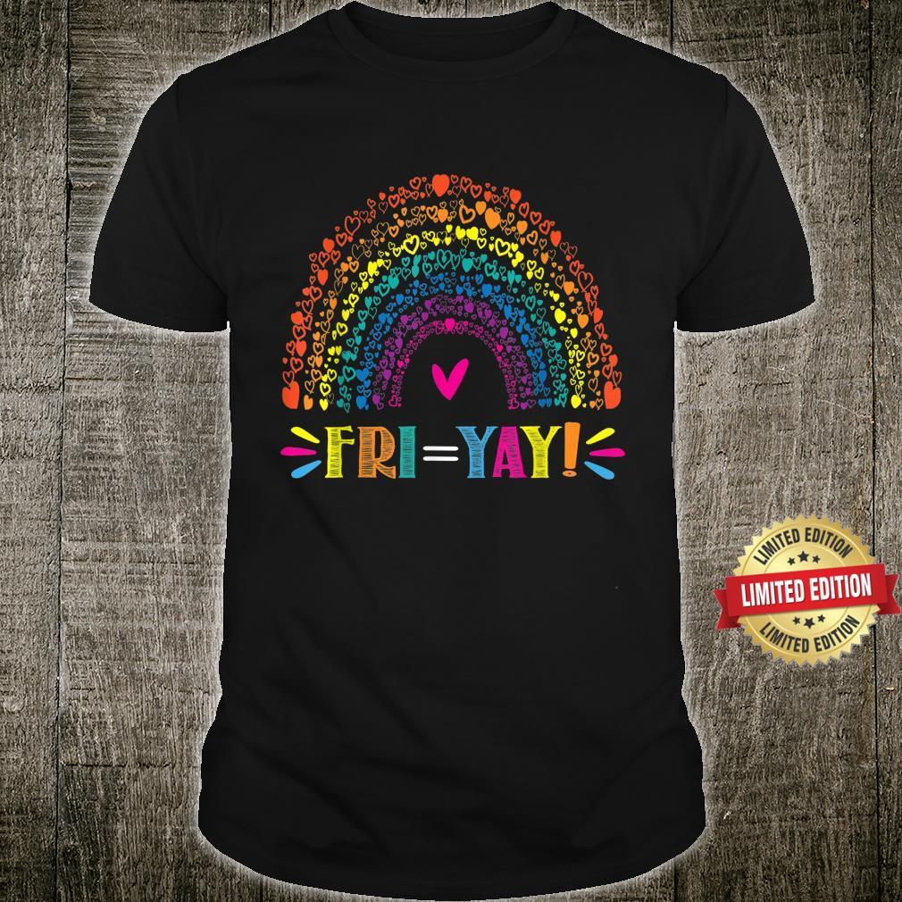 FriYay Happy Friday Teacher TGIF Friyay School Shirt