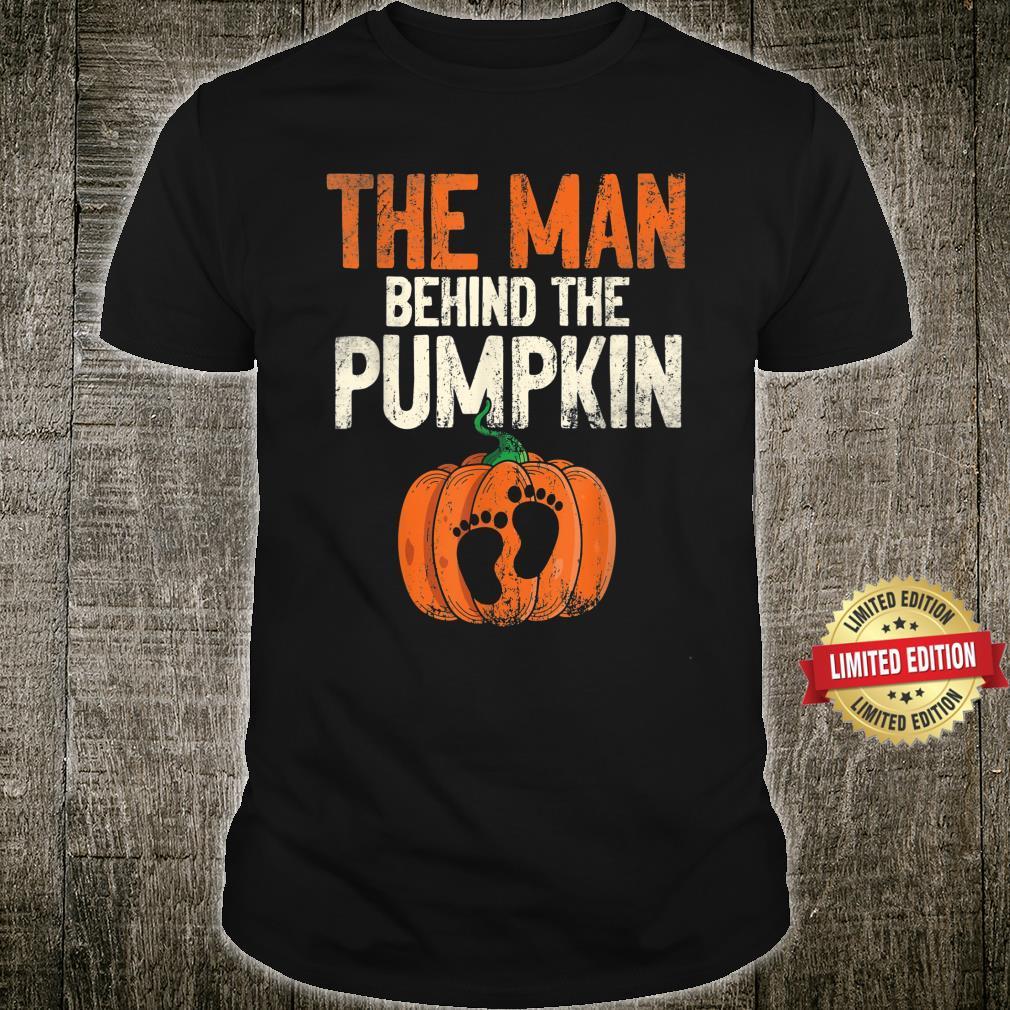 Halloween Pregnancy Announcement The Man Behind The Pumpkin Shirt