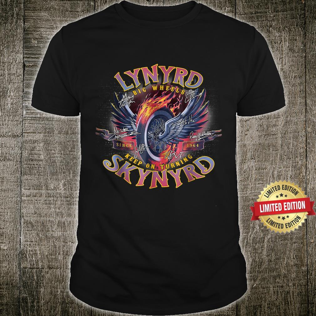 Lynyrds Keep On Turning Skynyrd Shirt
