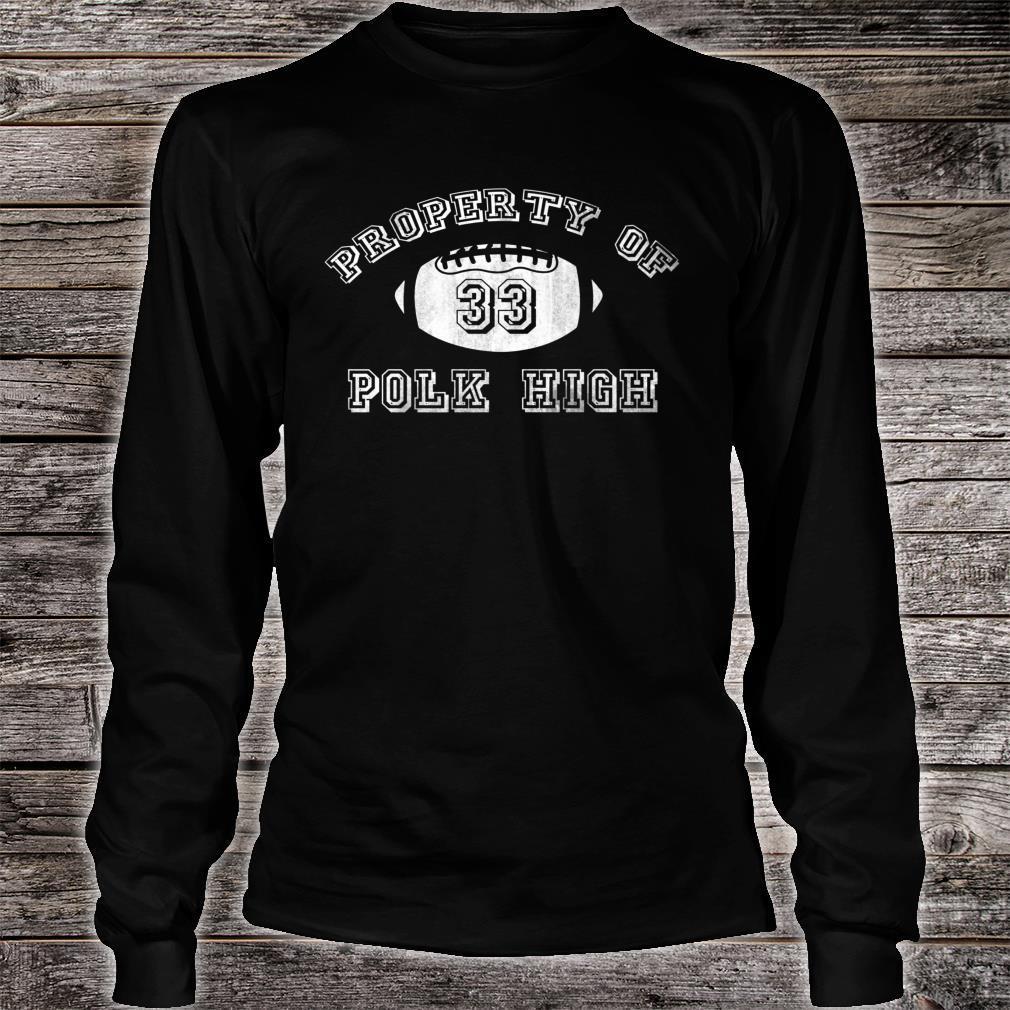 Mans Polk High Football Premium Shirt long sleeved