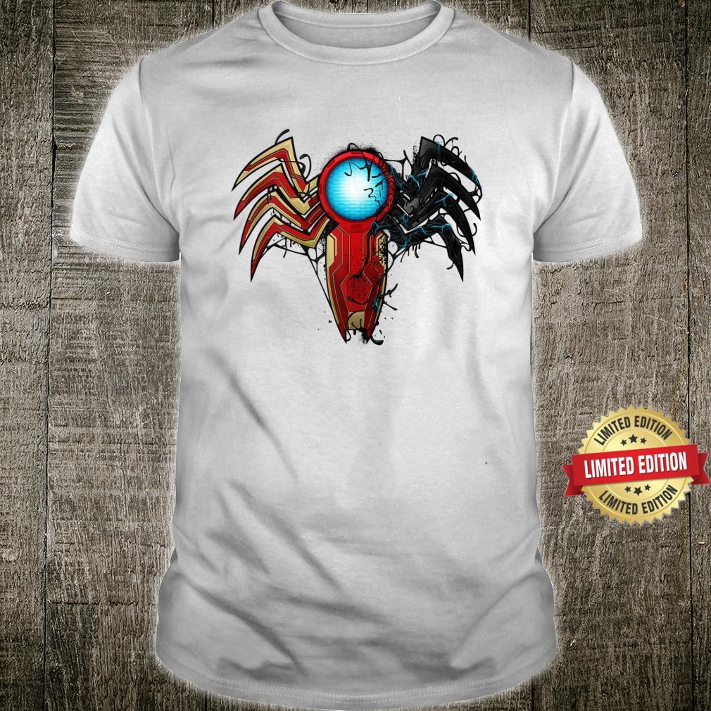Marvel SpiderMan Maximum Venom Iron Man Venomized Shirt