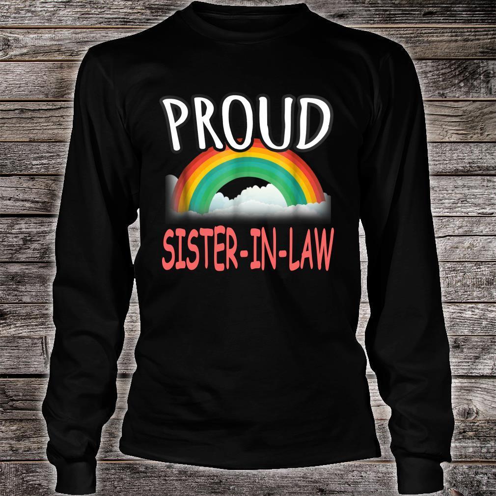 Proud Sister In Law Gay pride Shirt long sleeved