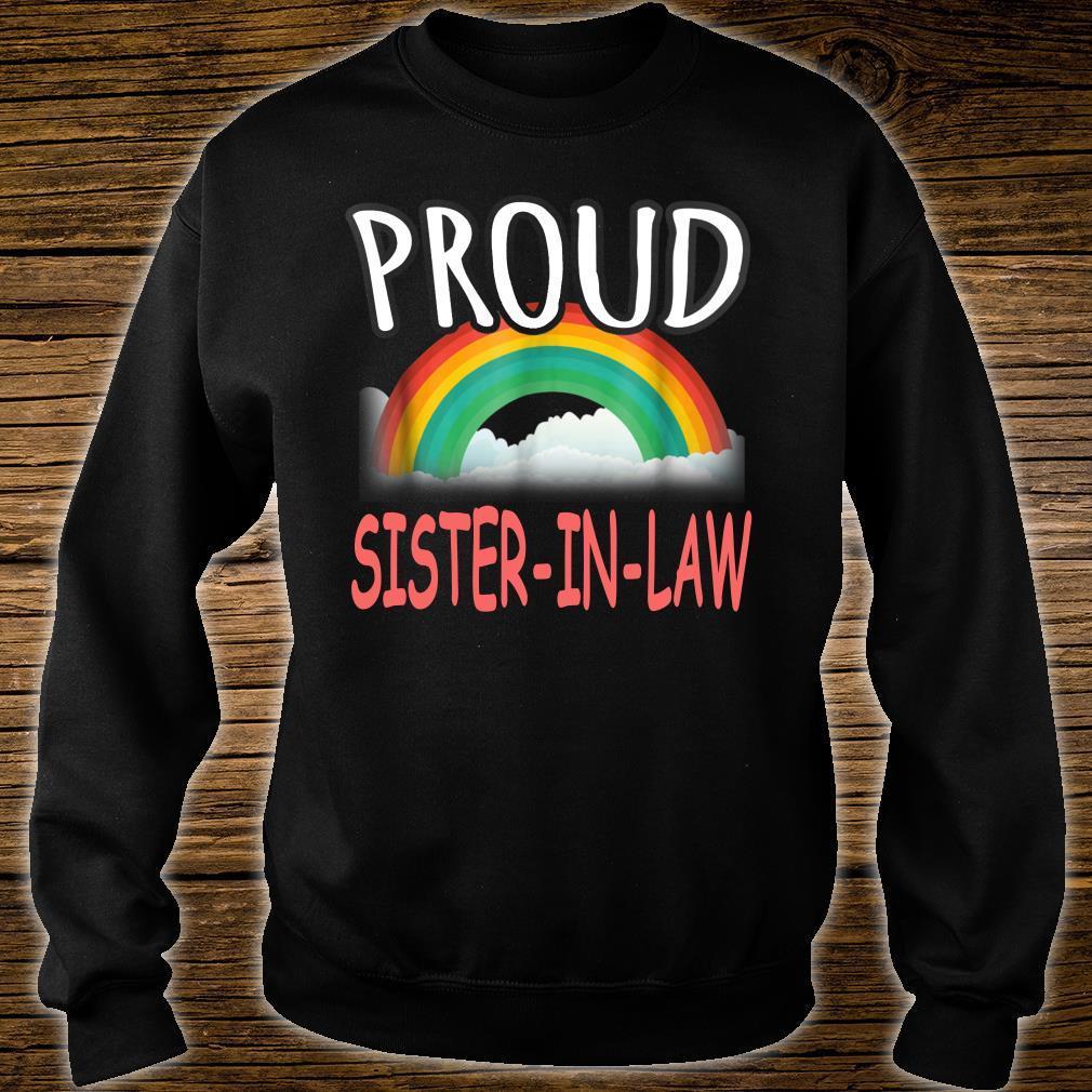 Proud Sister In Law Gay pride Shirt sweater