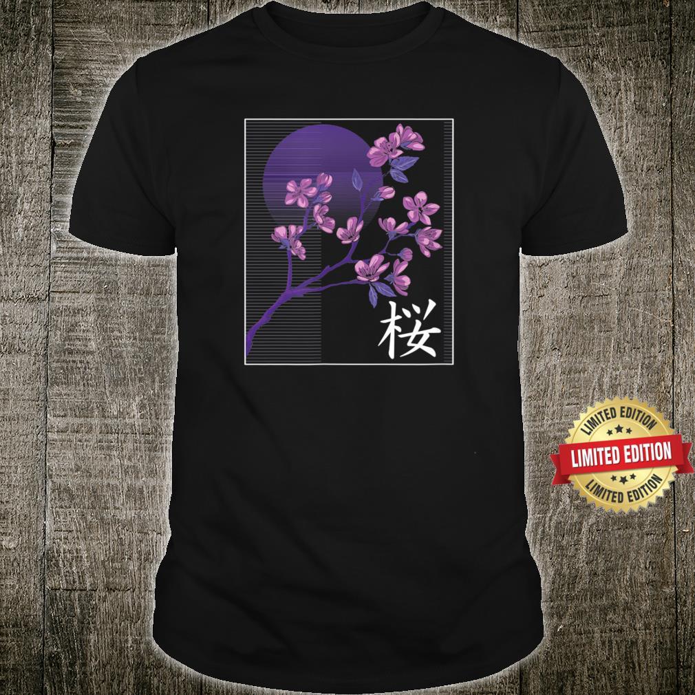 SAKURA ? Cherry Blossom Japanese Flower Kanji Shirt
