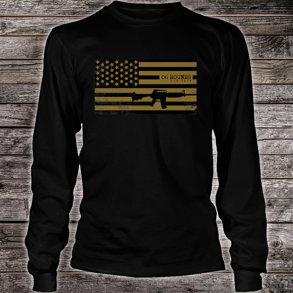 06 Rounds Shirt long sleeved