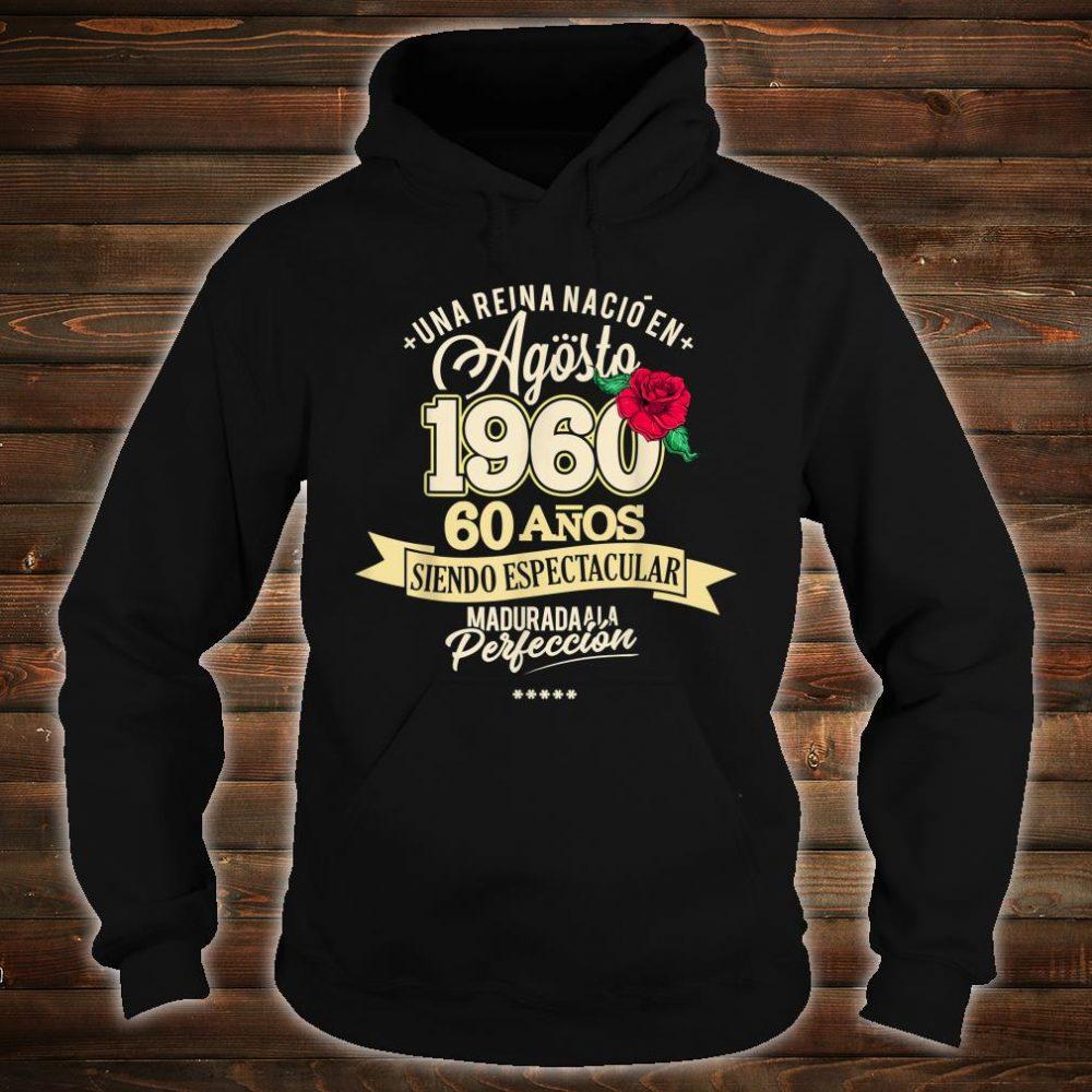 1960 60 Years August Birthday 2020 Shirt hoodie
