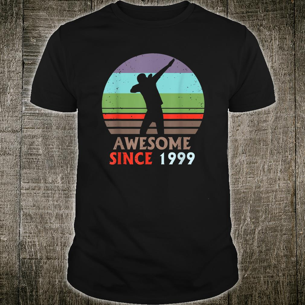 20 Years Old Awesome Since 1999 Shirt