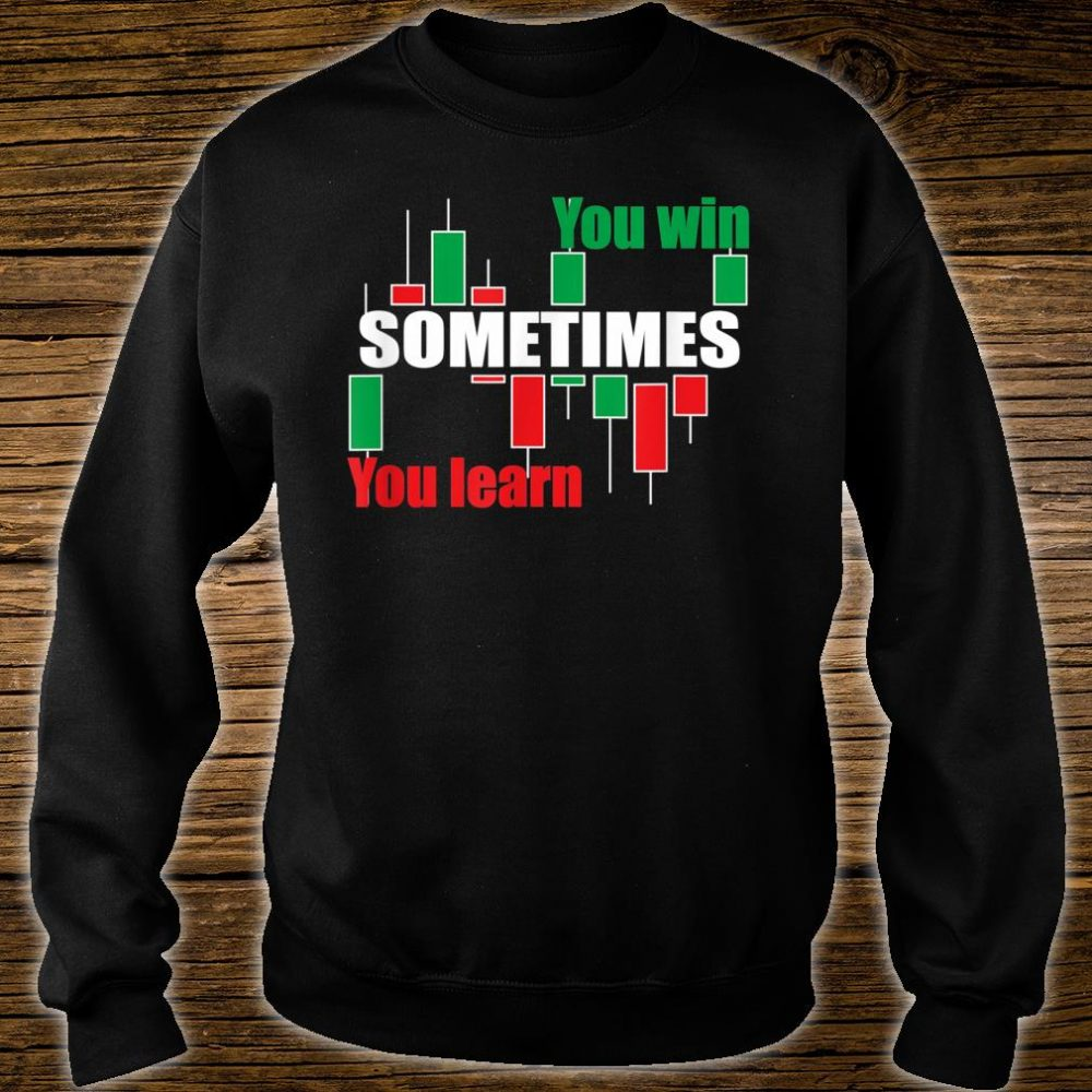 A forex or stock trading traders quote Shirt sweater
