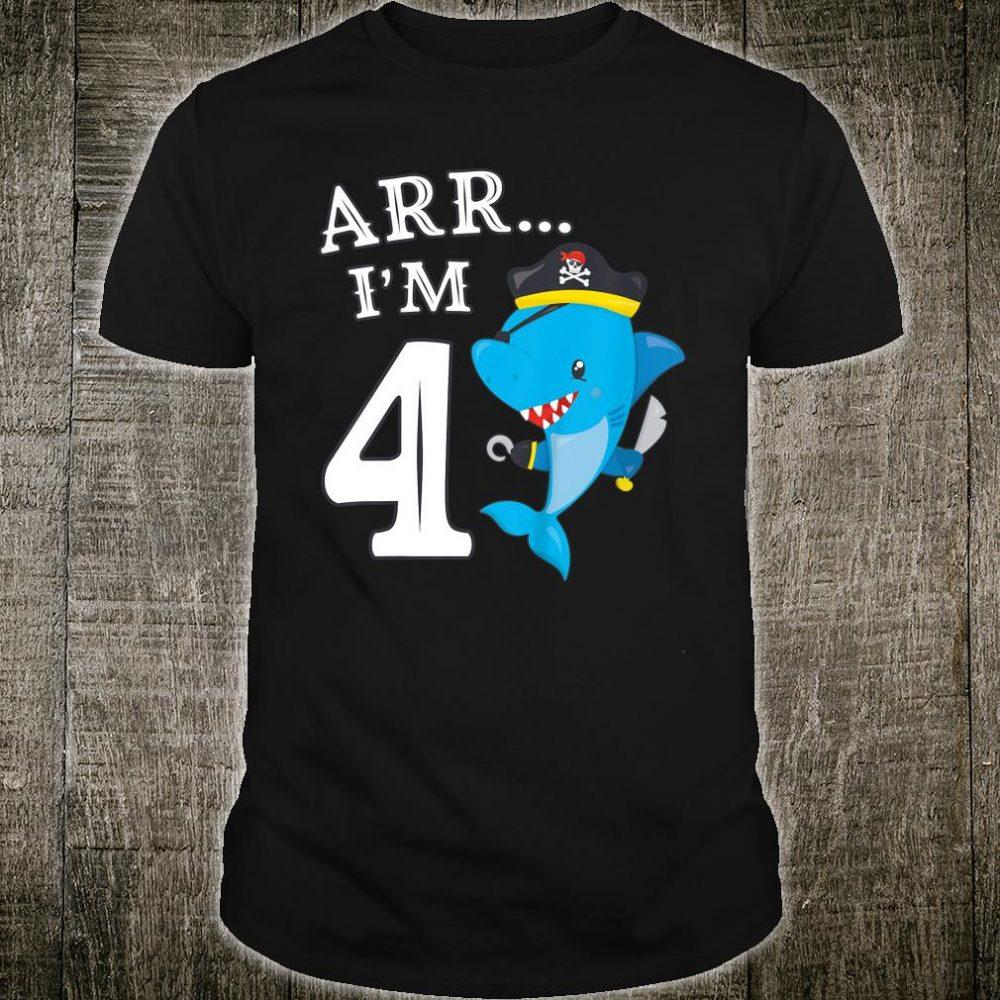 ARR I'M 4 Shark Shirt