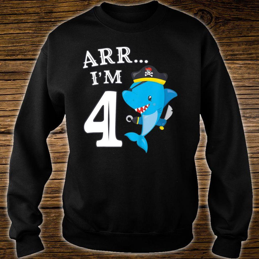 ARR I'M 4 Shark Shirt sweater