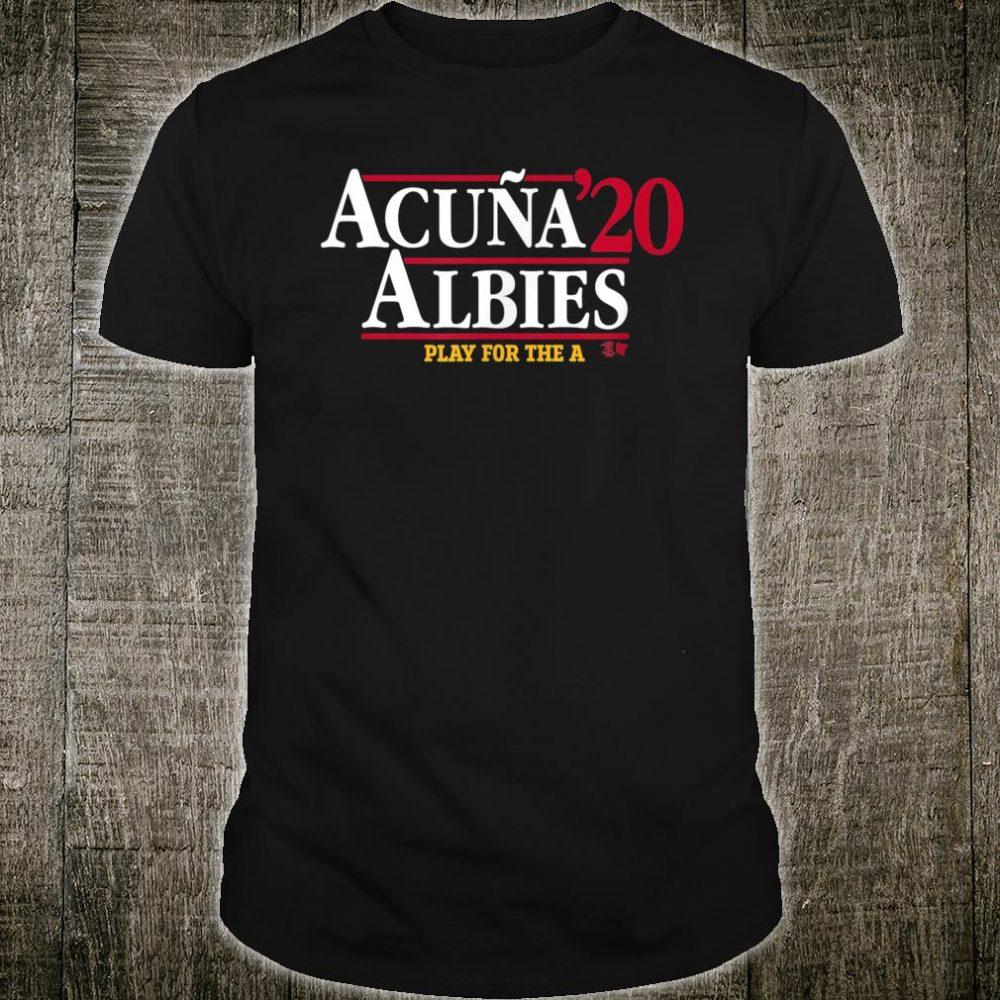 Acuna & Albies 2020 Shirt