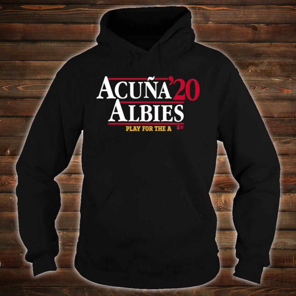 Acuna & Albies 2020 Shirt hoodie