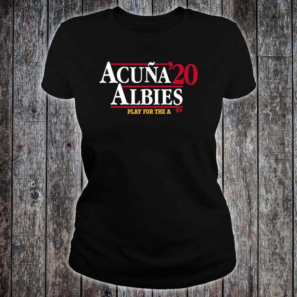 Acuna & Albies 2020 Shirt ladies tee