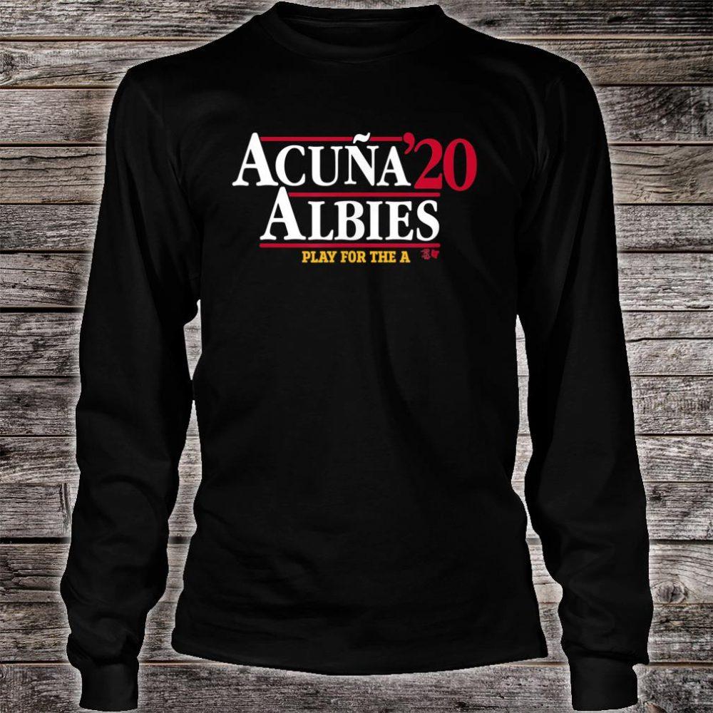 Acuna & Albies 2020 Shirt long sleeved