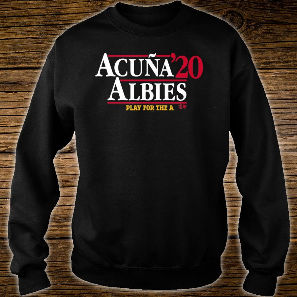 Acuna & Albies 2020 Shirt sweater