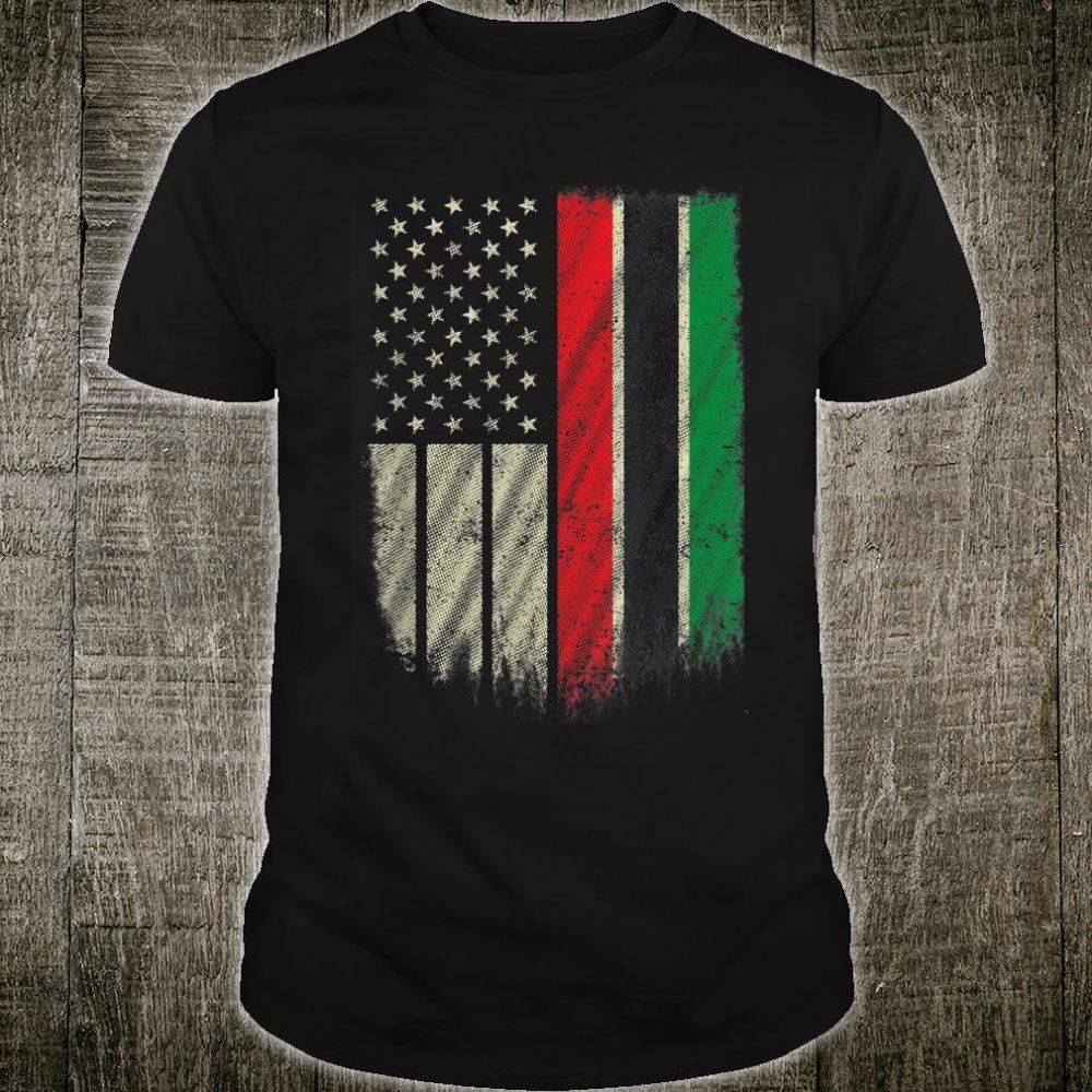 African UNIA Flag Shirt
