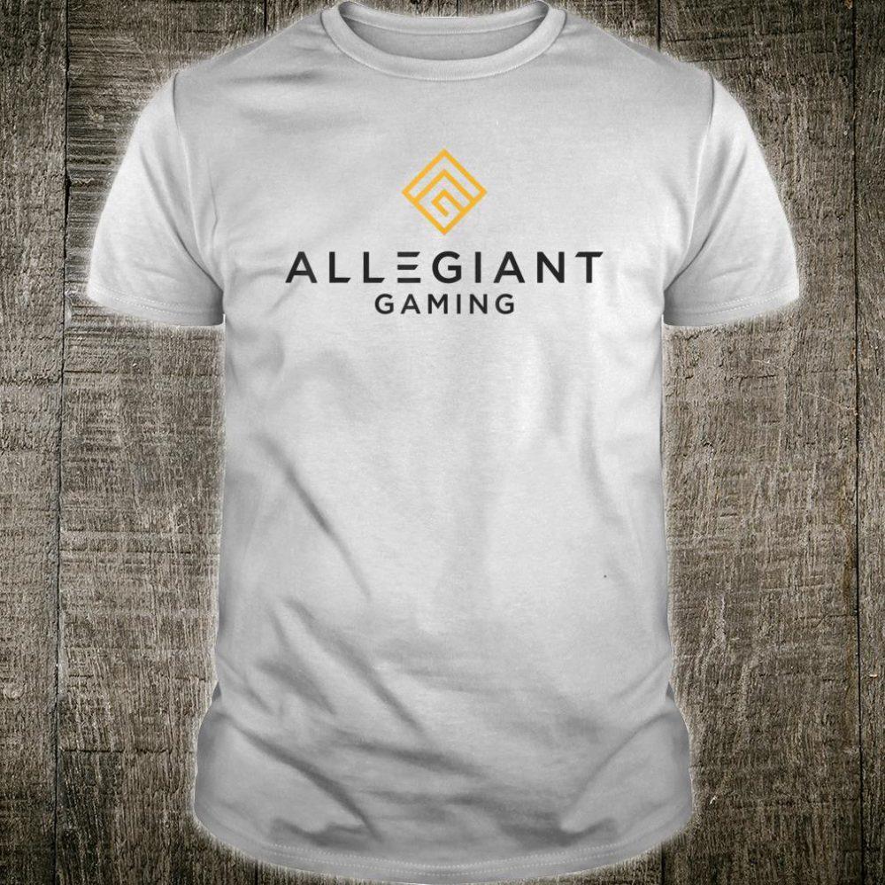 Allegiant Gaming Branded Pro Gaming Shirt