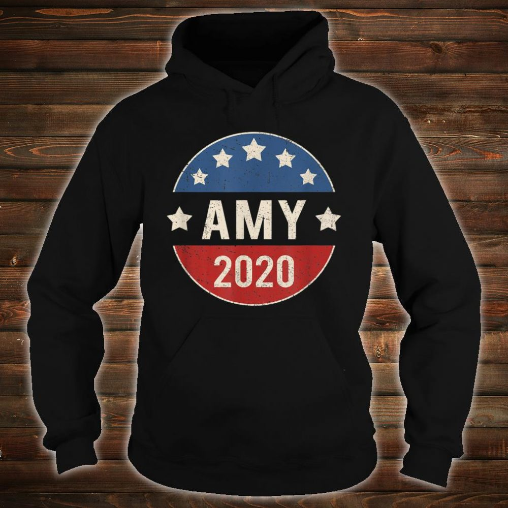 Amy Klobuchar For President 2020 Shirt hoodie