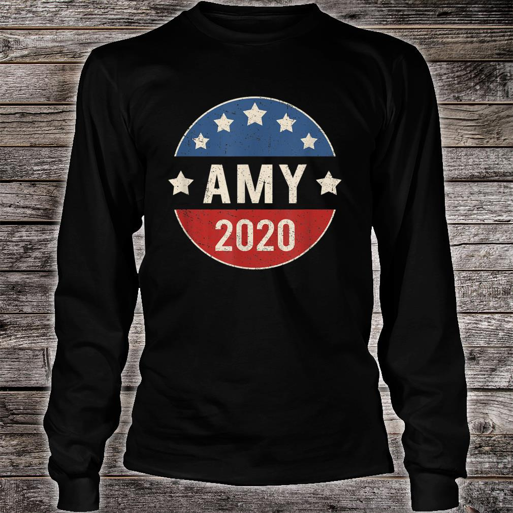 Amy Klobuchar For President 2020 Shirt long sleeved