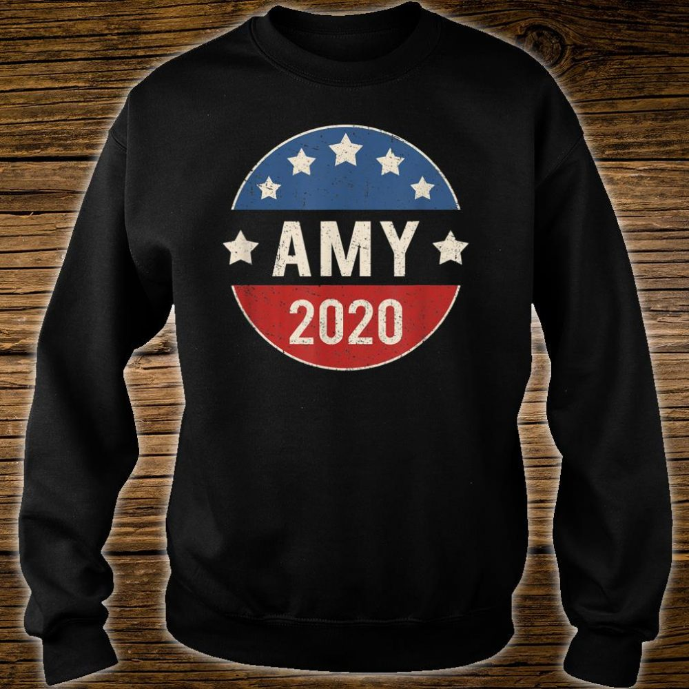 Amy Klobuchar For President 2020 Shirt sweater