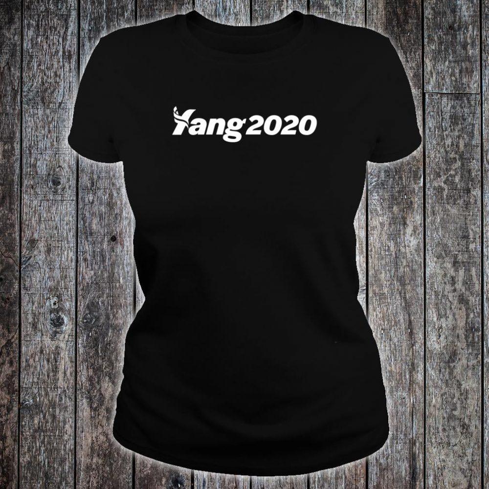 Andrew Yang 2020 Shirt ladies tee