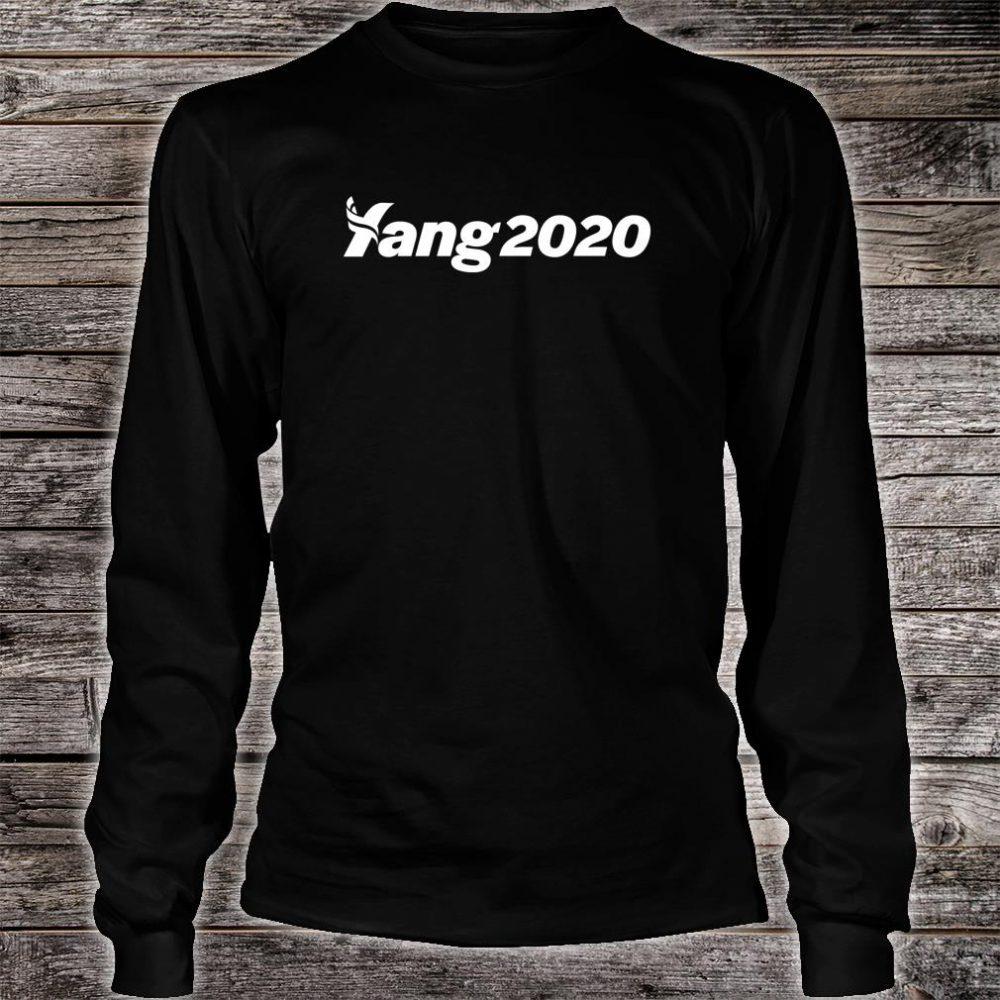 Andrew Yang 2020 Shirt long sleeved