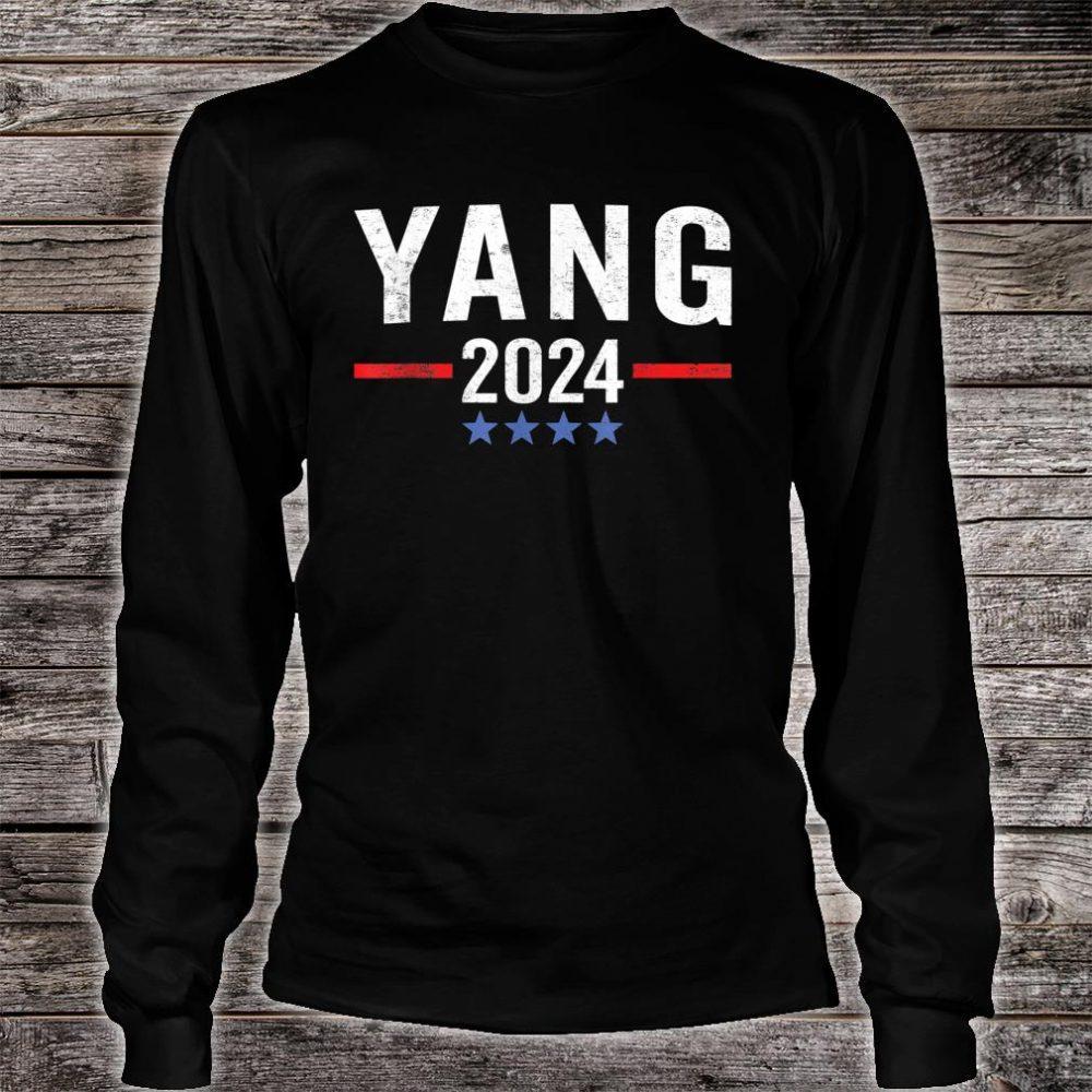 Andrew Yang 2024 Shirt long sleeved