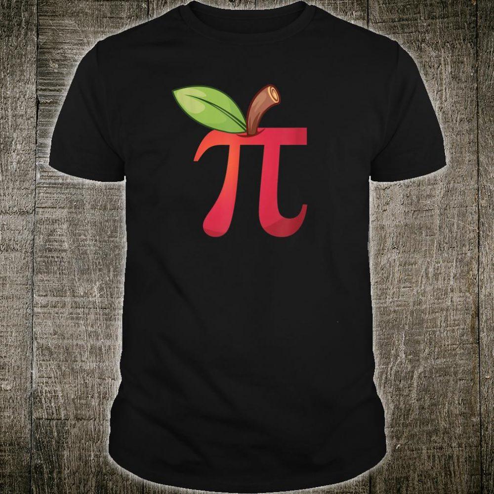 Apple Pi Math Lovers' & Math Teachers' Pi Day Shirt