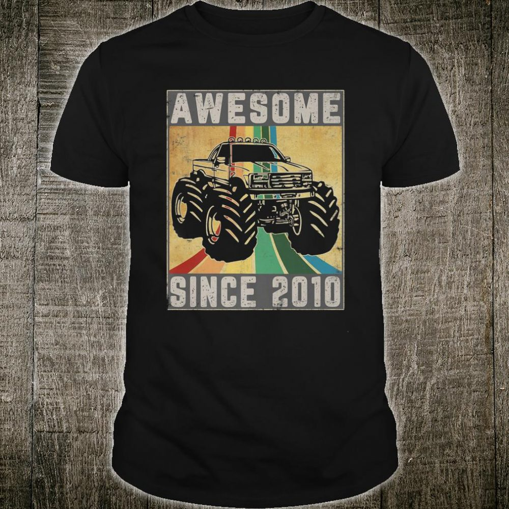Awesome Since 2010 Shirt