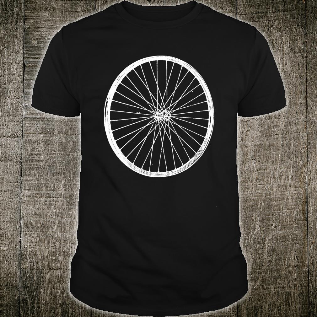 Bicycle Wheel Cycling Fans Rim Spoke Dirt Road Tires Biking Shirt