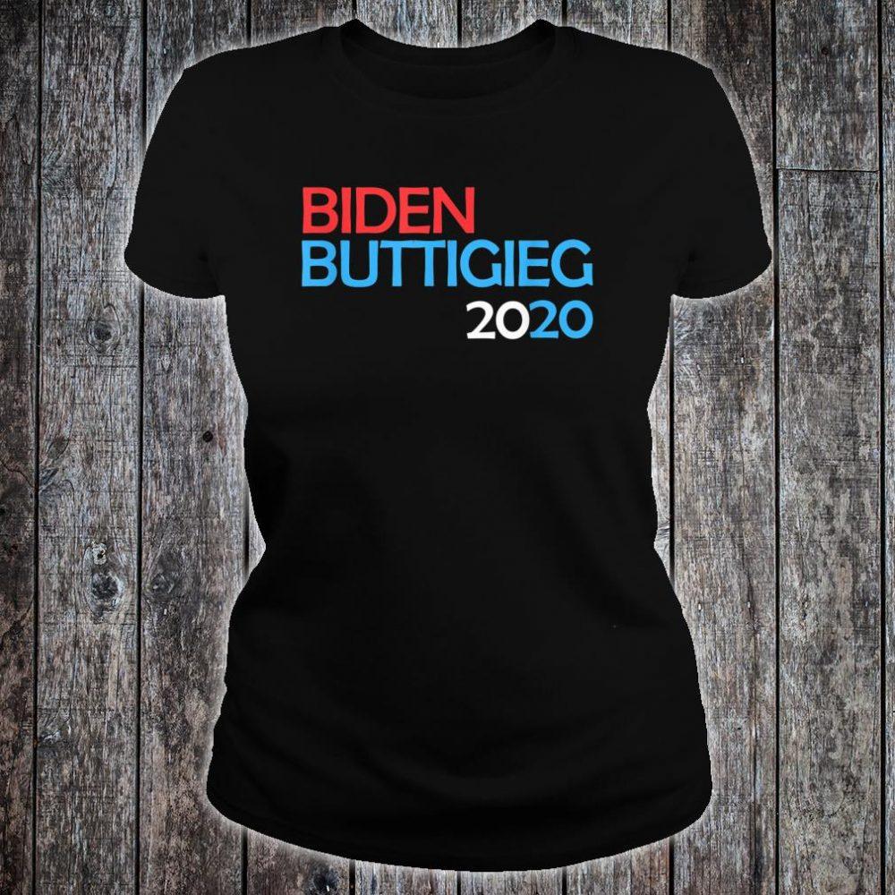 Biden Buttigieg 2020 Shirt ladies tee