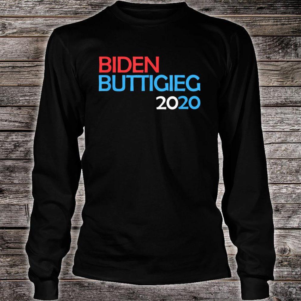 Biden Buttigieg 2020 Shirt long sleeved