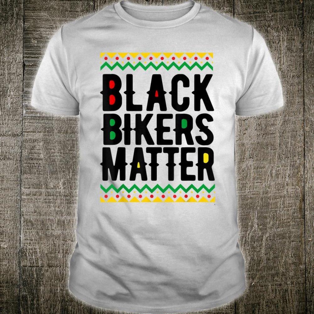 Black Bikers Matter Pride Shirt
