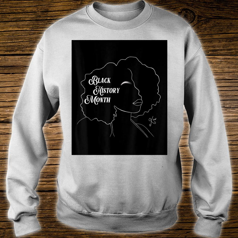 Black History Month Shirt sweater