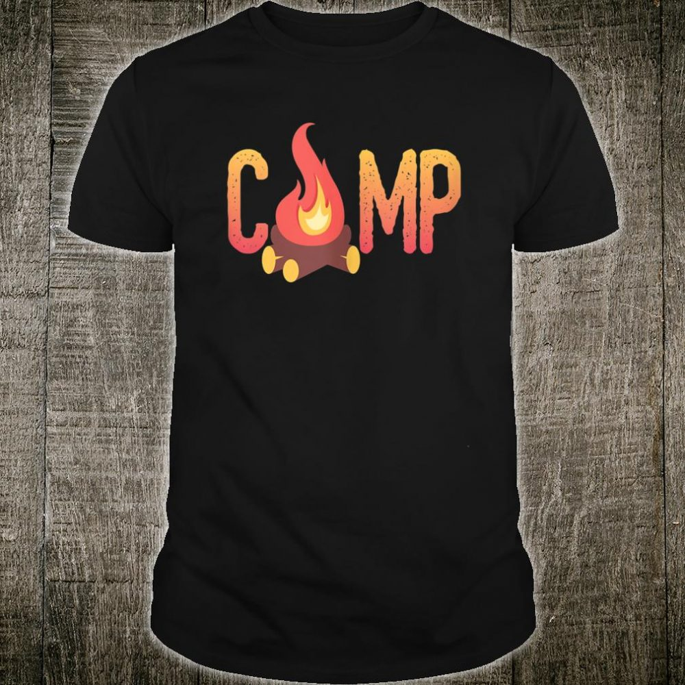 Bonfire Camping, Camp, Camper Shirt