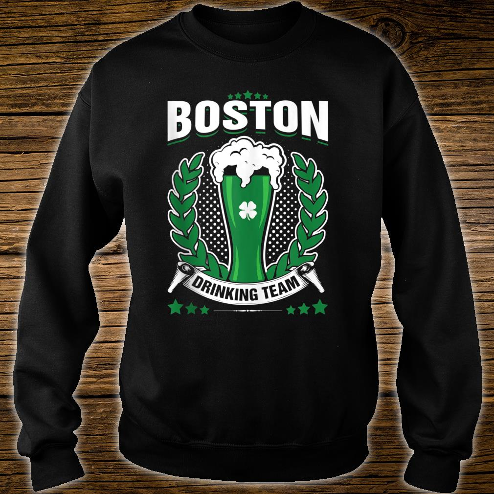 Boston Drinking Team Green Beer Shirt sweater