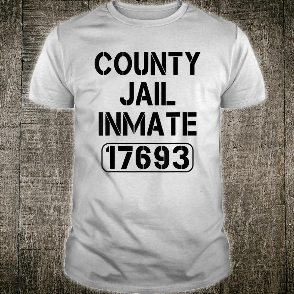 County Jail Inmate Shirt