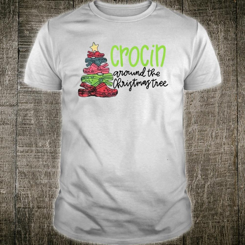 Crocin' Around the Christmas Tree Croc Lover Shirt