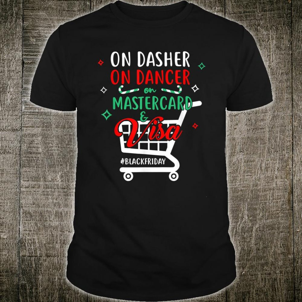 Dasher On Dance Credit Cards Shirt