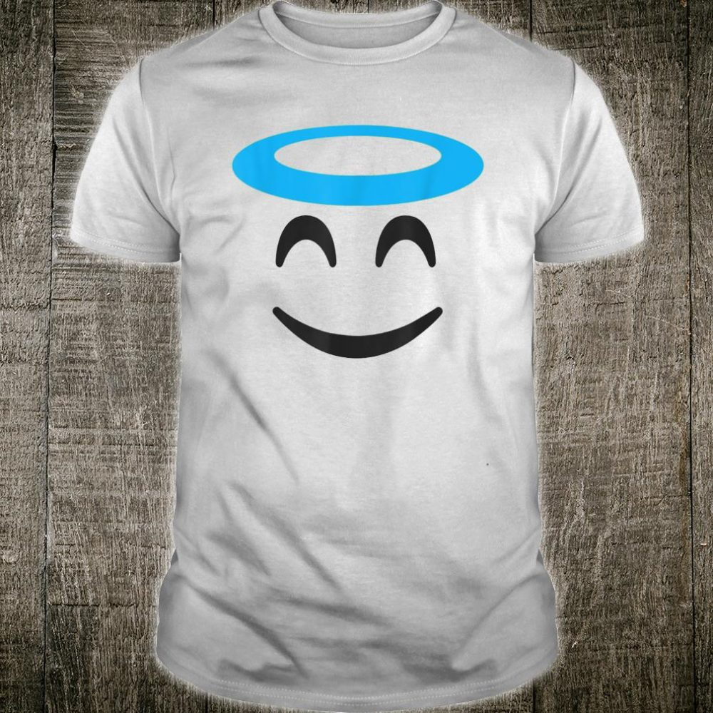 Emojis Smiling Face With Halo Angel Shirt