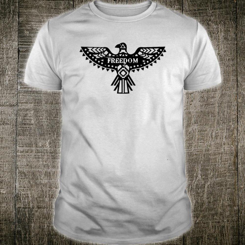 Freedom Aztec Boho Eagle Shirt