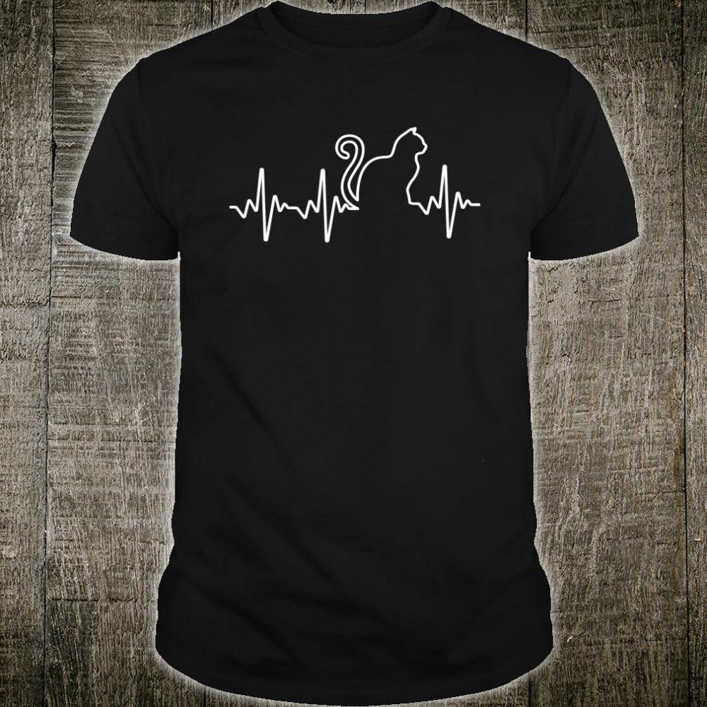 Great Cats Heartbeat Girls Boys Cat Shirt
