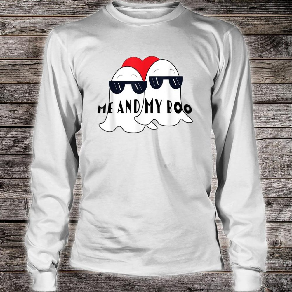 Halloween Me And My Boo Friend Shirt long sleeved