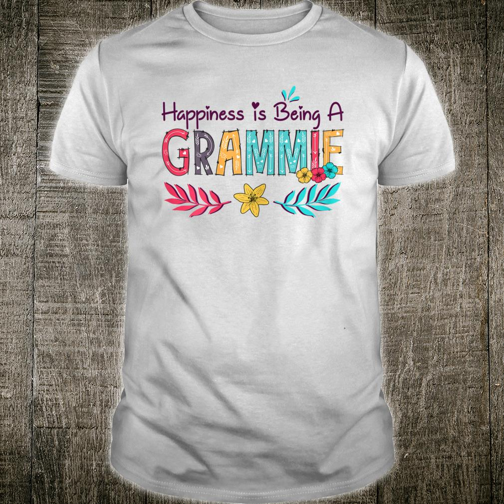 Happiness is being a Grammie Mother's Day Shirt