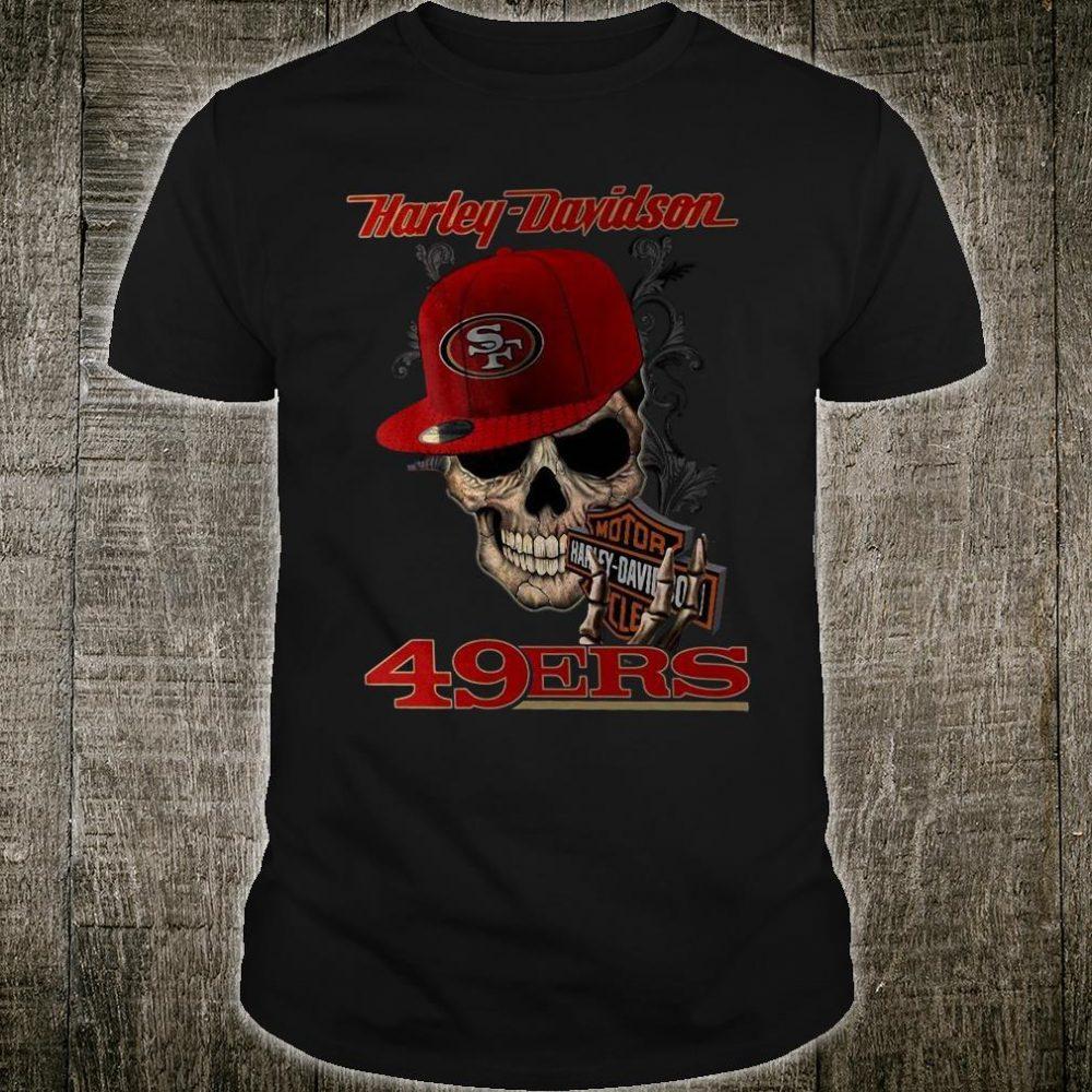 Harley Davidson 49Ers San Francisco shirt