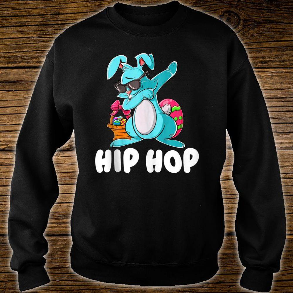 Hip Hop Dabbing Bunny With Sunglasses Shirt sweater