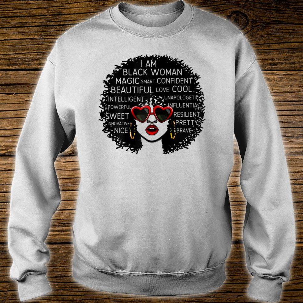 I Am Black Woman Queen African-American Shirt sweater